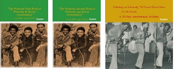 Three books celebrating the Pioneers' 50 years in reggae music plus much more from the author.